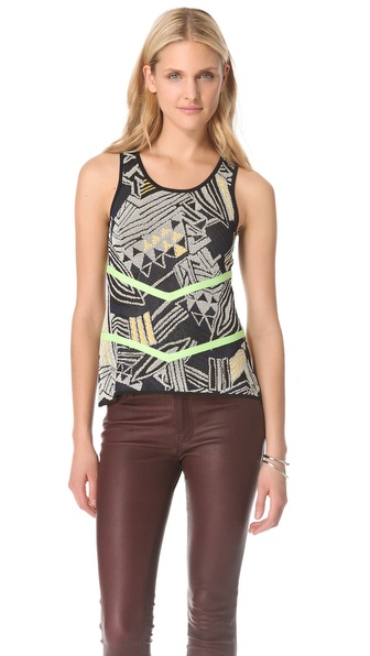 Cut25 by Yigal Azrouel Space Jam Techno Top