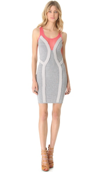 Cut25 by Yigal Azrouel Techno Knit Dress
