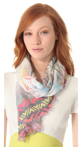 Cut25 by Yigal Azrouel Tie Dye Scarf