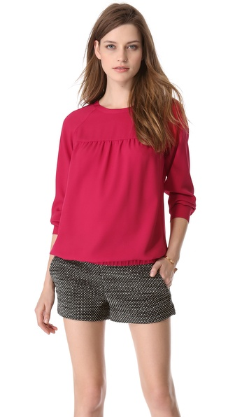 Cut25 by Yigal Azrouel Raglan Blouse