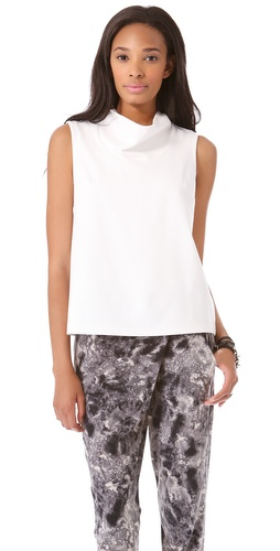 Cut25 by Yigal Azrouel Cowl Ponte Tank