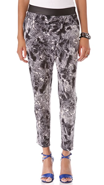 Cut25 by Yigal Azrouel Slouchy Jersey Pants