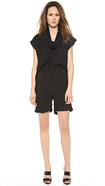 Cut25 by Yigal Azrouel Cowl Neck Romper