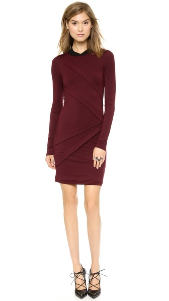 Cut25 by Yigal Azrouel Asymmetrical Pleated Dress