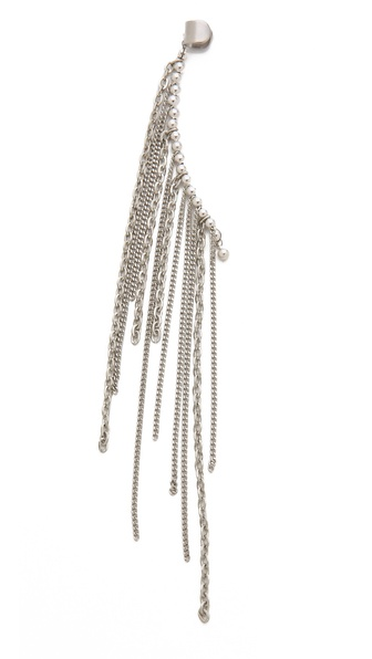 Cornelia Webb Fringed Ear Piece