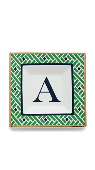 C. Wonder Monogram Square Plate