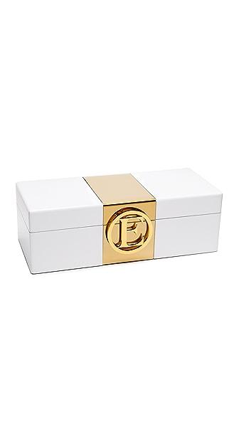 C. Wonder Monogram Jewelry Box - E