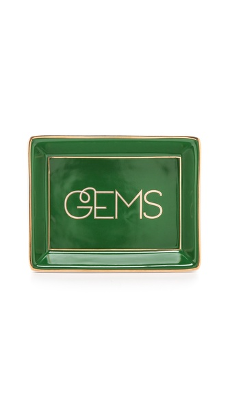 C. Wonder Gems Trinket Tray - Emerald