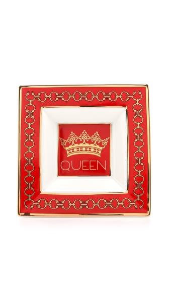 C. Wonder Queen Porcelain Dish - Red