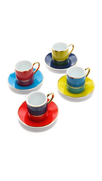 C. Wonder Colorblock Espresso Set - Multi