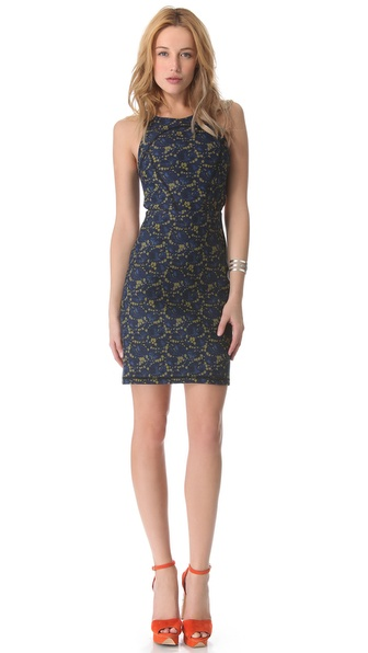 Cynthia Rowley Open Back Bonded Dress