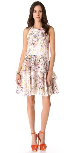 Cynthia Rowley Confetti Overlay Dress