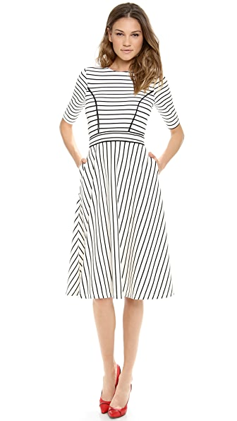 Cynthia Rowley Striped Dress