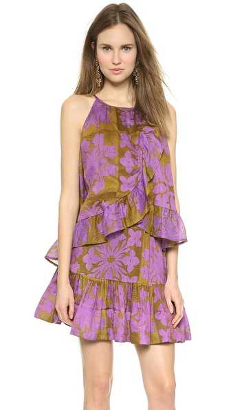 Cynthia Rowley Ruffle Bottom Camisole