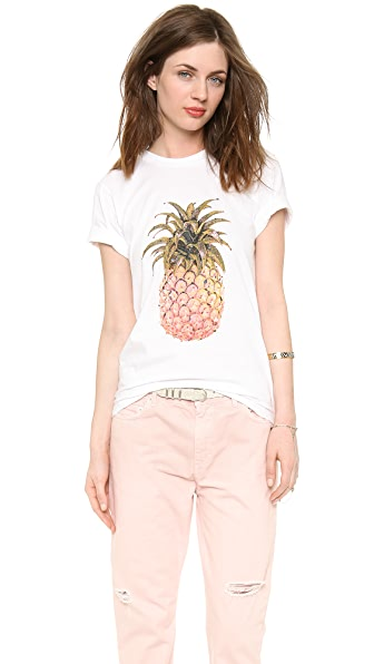 Cynthia Rowley Pineapple Tee