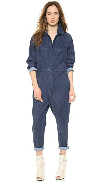 Cynthia Rowley Denim Jumpsuit