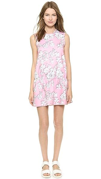Kupi Cynthia Rowley haljinu online i raspordaja za kupiti Cynthia Rowley Bonded Drop Waist Dress Pink Floral online