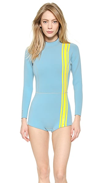 Athletic Stripe Wetsuit (Green)
