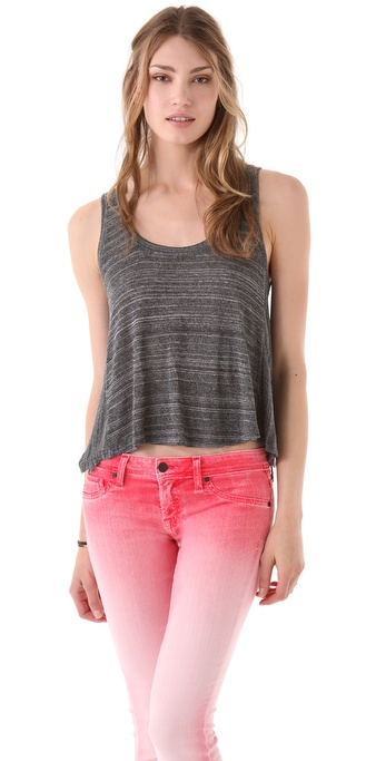 Daftbird Cropped Tank Top
