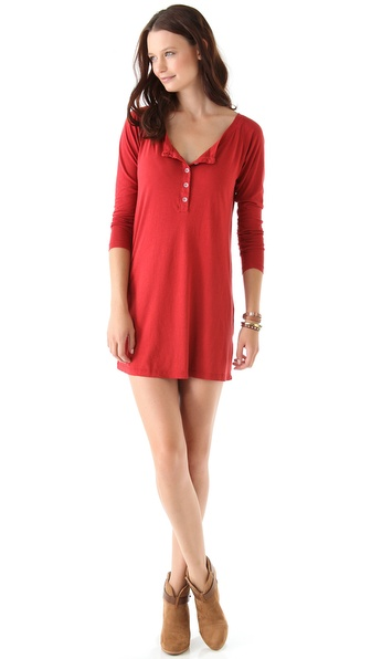Daftbird Henley Dress