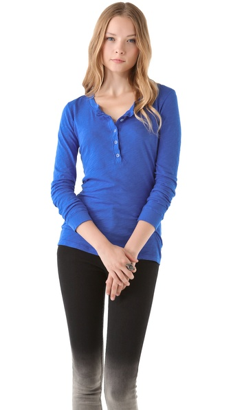 Daftbird Detailed Henley