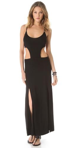 Daftbird Cutout Maxi Dress
