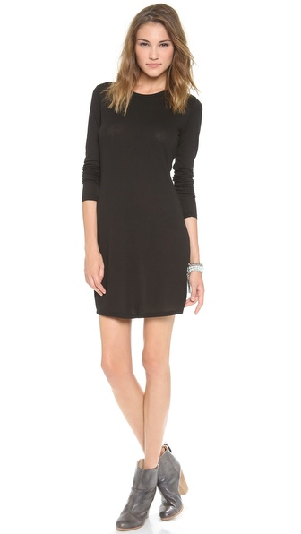 Daftbird Long Sleeve Mini Dress