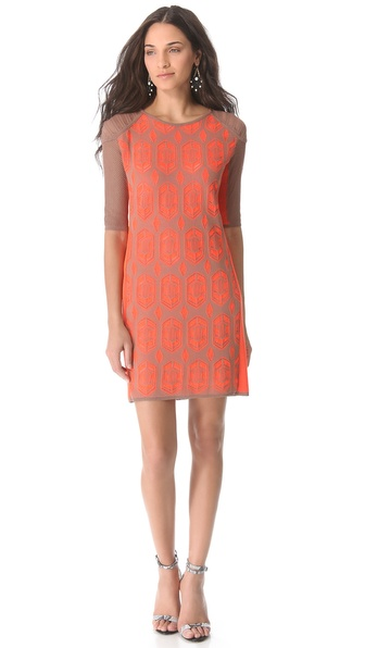 Dagmar Dita Lace Knit Dress