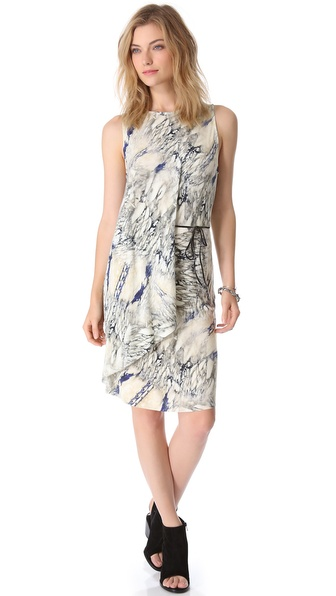 Dagmar Magdalena Faux Wrap Dress