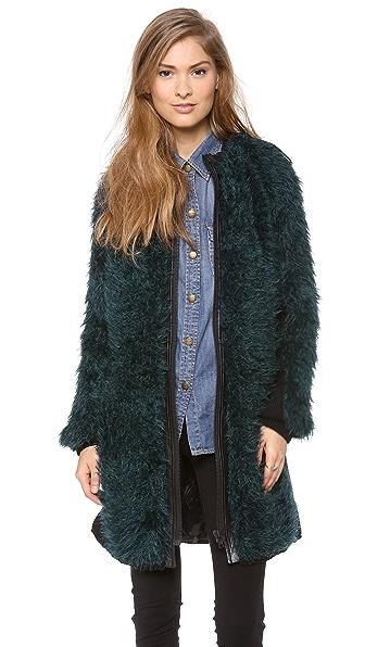 Dagmar Yole Mohair Coat