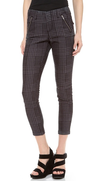Dagmar Jun Houndstooth Slim Pants