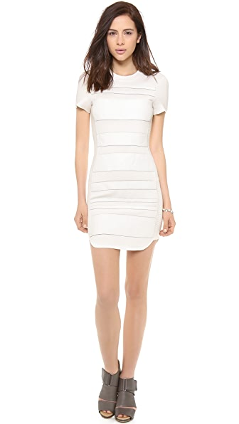 Dagmar Rosy Stripe Dress