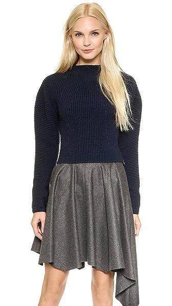 Dagmar Novella Sweater - Navy Blue