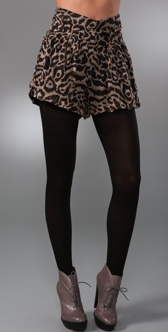 Dallin Chase Chester Animal Print Shorts