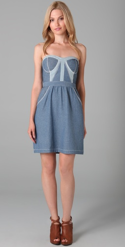 Dallin Chase Weekend Denim Matteo Dress