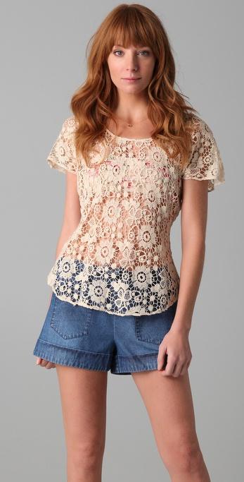 Dallin Chase Jerry Crochet T Shirt