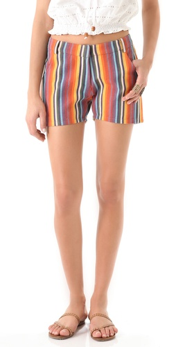 Dallin Chase Jude Striped Shorts