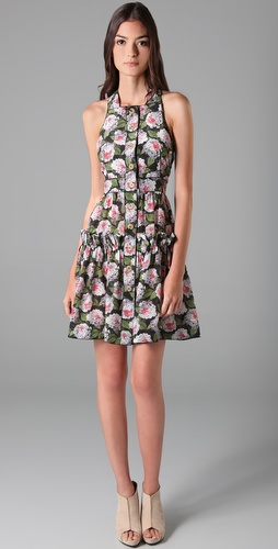 D&G Floral Ruffle Dress