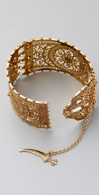 DANNIJO Lakshmi Cuff with Sword Closure