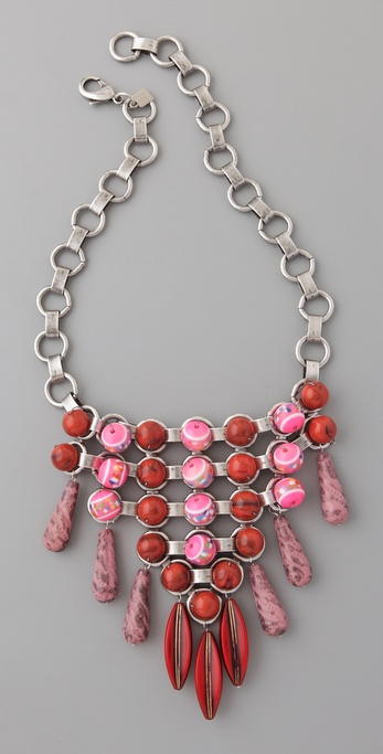 DANNIJO Harper Bib Necklace