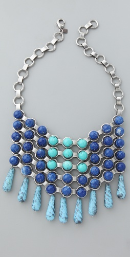 DANNIJO Dylan Bib Necklace
