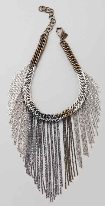 DANNIJO Paola Fringe Necklace