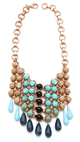 DANNIJO Medine Bib Necklace