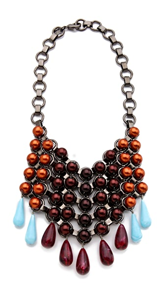 DANNIJO Donesia Bib Necklace