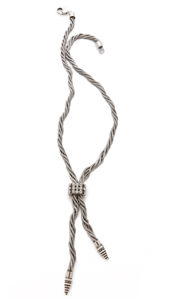 DANNIJO Brielle Lariat Necklace