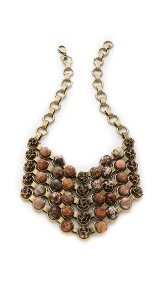 DANNIJO Rossa II Bib Necklace