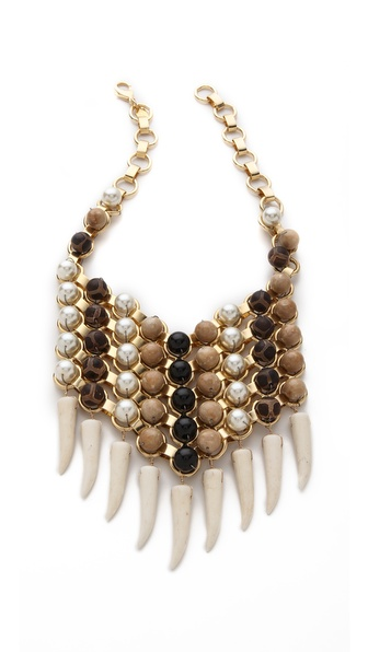 DANNIJO Kali Bib Necklace