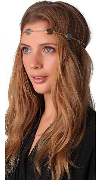 Dauphines of New York Band of Gold Headband