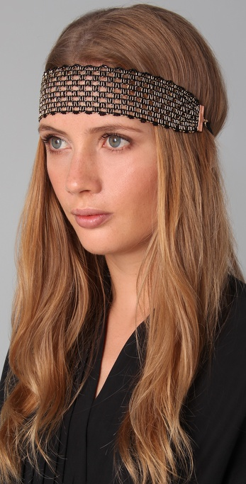 Dauphines of New York Gilded Pleasure Headband
