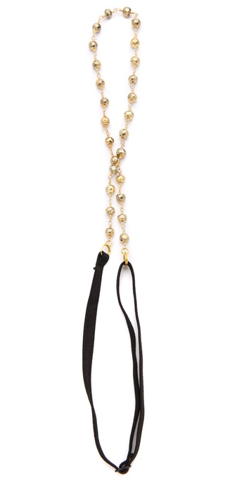 Dauphines Of New York The Bombshell Headband - Pyrite at Shopbop / East Dane